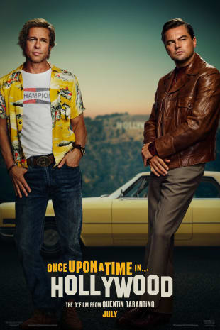 movie poster for Once Upon A Time...In Hollywood