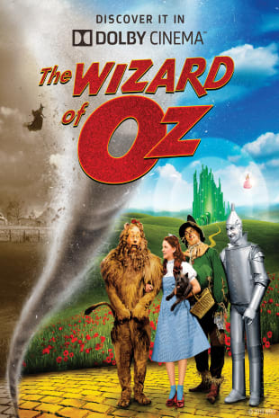 movie poster for The Wizard of Oz: 80th Anniversary In Dolby Cinema