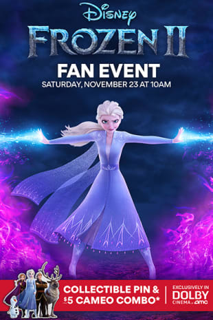 movie poster for Frozen 2 Fan Event in Dolby Cinema