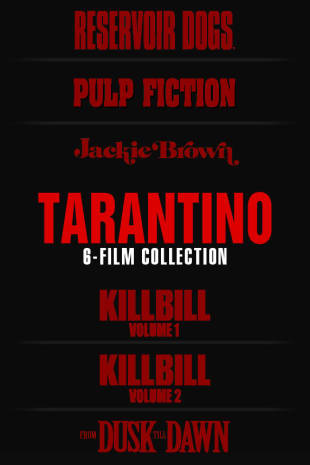 movie poster for The Tarantino 6-Film Collection