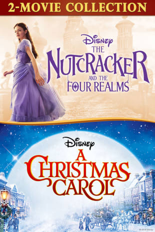 movie poster for The Nutcracker and the Four Realms / Disney's A Christmas Carol Bundle