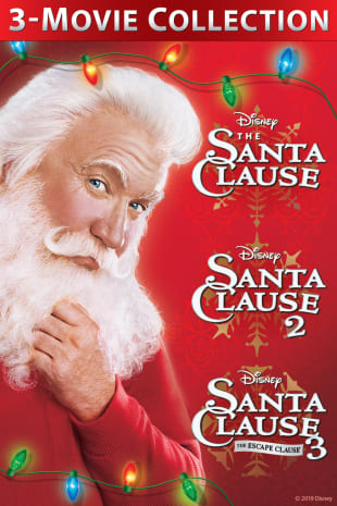movie poster for Santa Clause 1-3 Bundle