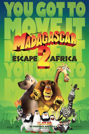 movie poster for Madagascar Escape 2 Africa