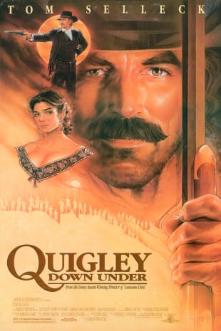 movie poster for Quigley Down Under