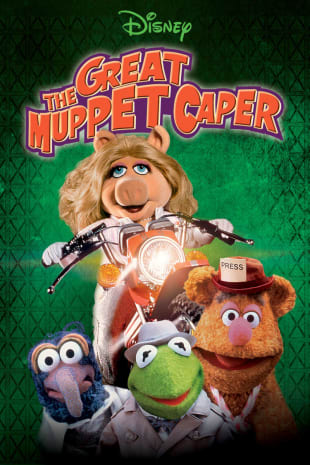 movie poster for The Great Muppet Caper
