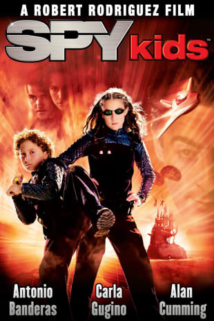 movie poster for Spy Kids