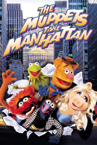 movie poster for The Muppets Take Manhattan