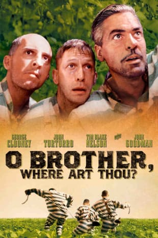 movie poster for O Brother, Where Art Thou?