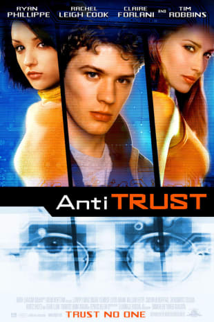 movie poster for Antitrust