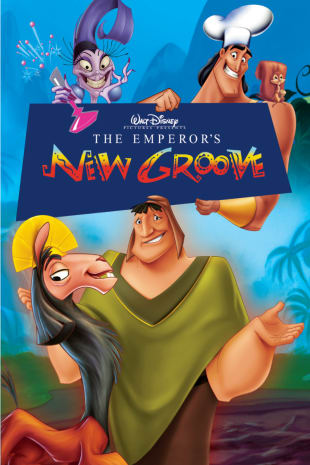 movie poster for The Emperor's New Groove