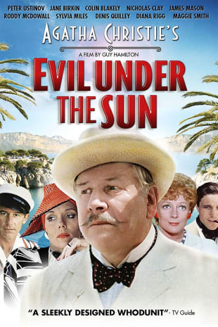 movie poster for Evil Under The Sun
