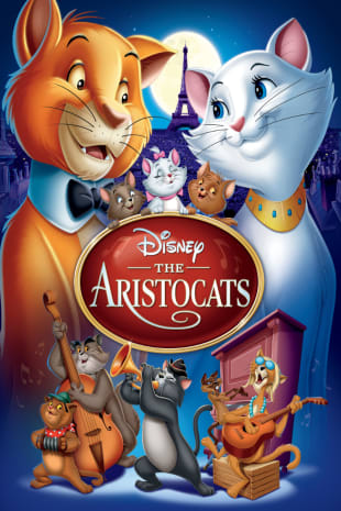 movie poster for The Aristocats