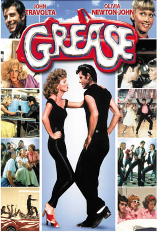 movie poster for Grease (1978)