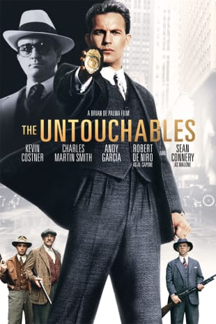 movie poster for The Untouchables