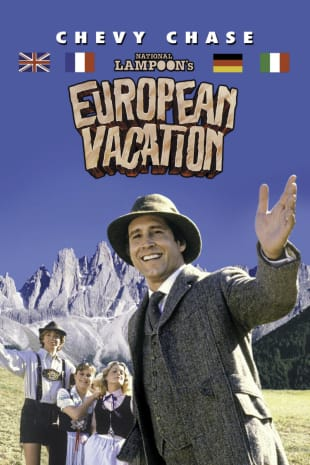 movie poster for Nat'l Lampoon's European Vacation