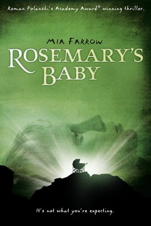 movie poster for Rosemary's Baby