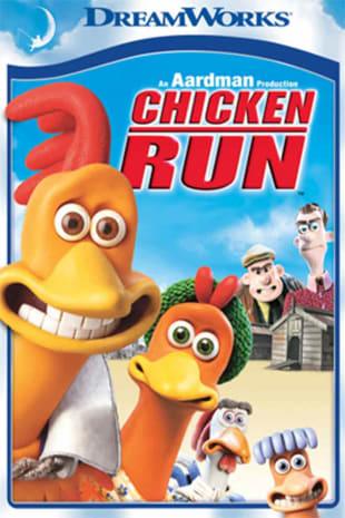 movie poster for Chicken Run