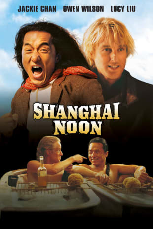 movie poster for Shanghai Noon