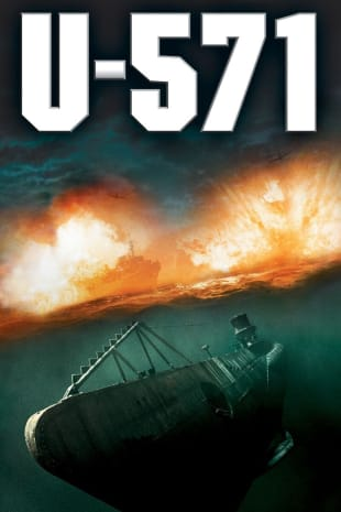 movie poster for U-571