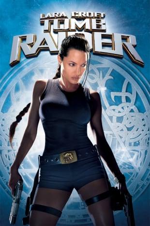 movie poster for Lara Croft: Tomb Raider