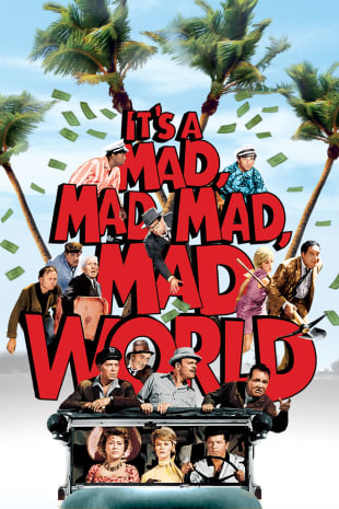 movie poster for It's A Mad, Mad, Mad, Mad World