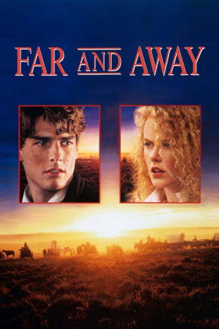 movie poster for Far and Away