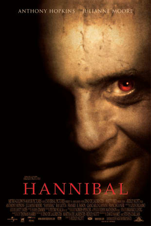 movie poster for Hannibal