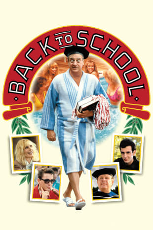movie poster for Back To School (1986)