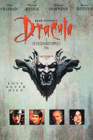 movie poster for Bram Stoker's Dracula