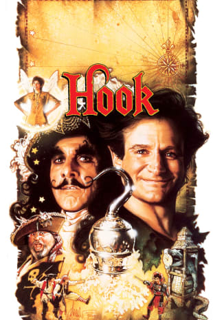 movie poster for Hook