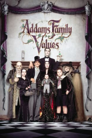 movie poster for Addams Family Values
