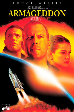 movie poster for Armageddon