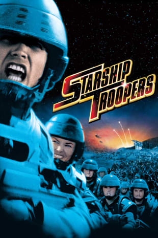movie poster for Starship Troopers