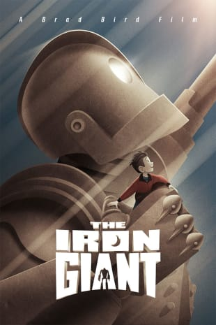movie poster for The Iron Giant (1999)