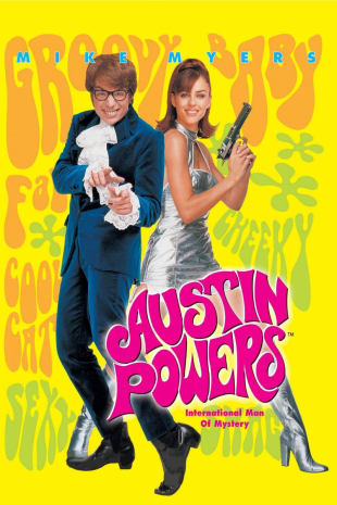 movie poster for Austin Powers: International Man of Mystery
