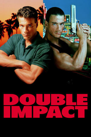 movie poster for Double Impact