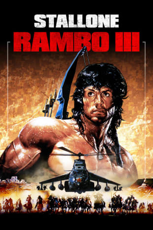movie poster for Rambo III (1988)