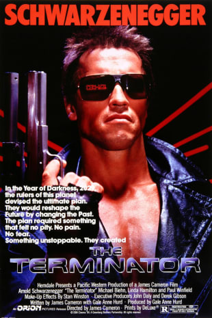 movie poster for The Terminator (1984)