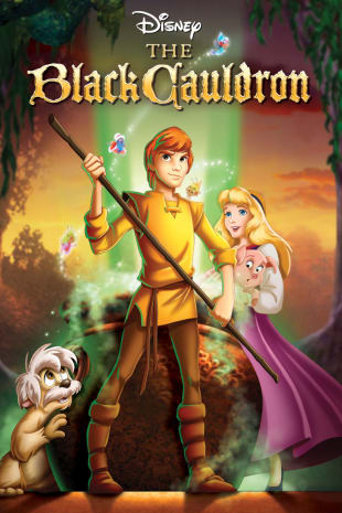 movie poster for The Black Cauldron
