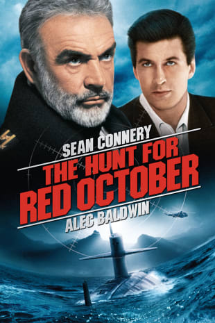 movie poster for The Hunt For Red October