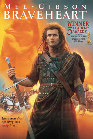 movie poster for Braveheart