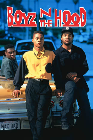movie poster for Boyz 'N the Hood