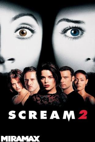 movie poster for Scream 2