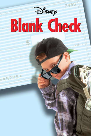 movie poster for Blank Check