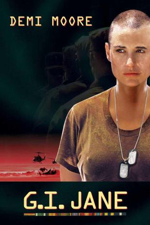 movie poster for G.I. Jane