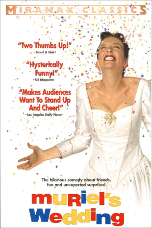 movie poster for Muriel's Wedding