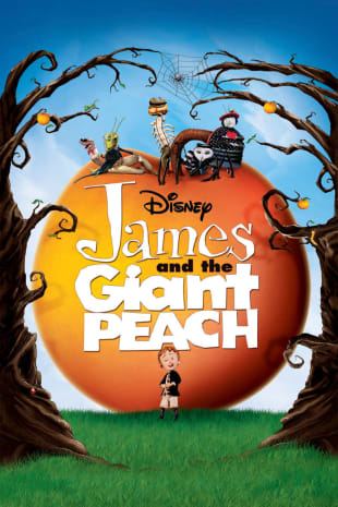 movie poster for James and the Giant Peach