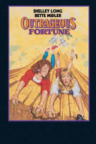 movie poster for Outrageous Fortune