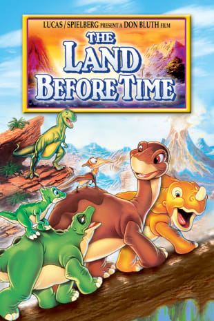 movie poster for The Land Before Time