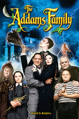 movie poster for The Addams Family (1991)